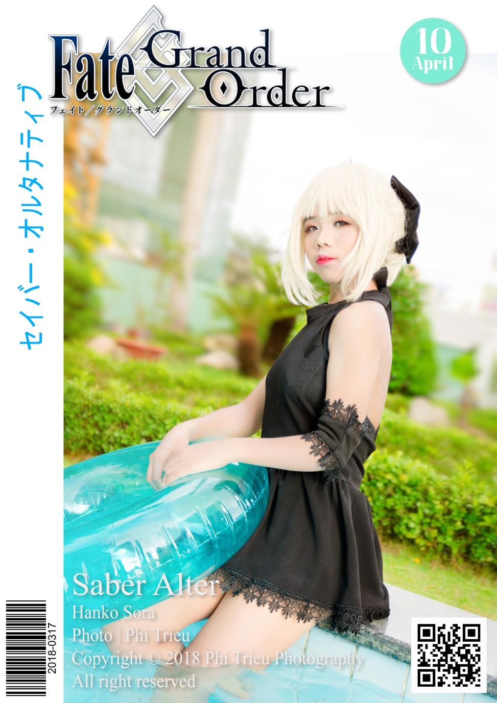 Saber Alter (Swimsuit) | Hanko Sora
