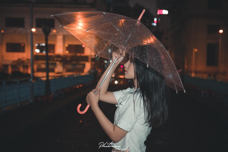 Night Falls Rain